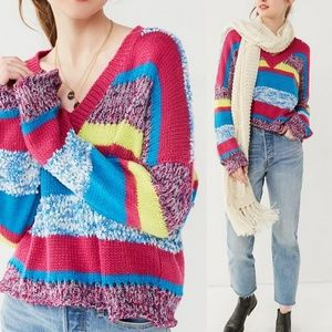 NWT Urban Outfitters Jax V-Neck Pullover Sweater